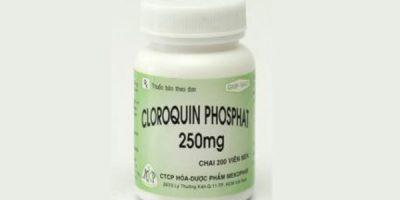 Chloroquine điều trị sốt rét đang dùng trong Covid-19