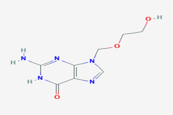 Công thức hoạt chất acyclovir