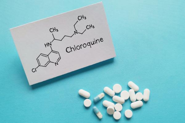 Công thức hoạt chất chloroquine