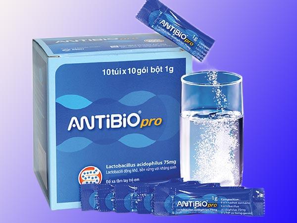 Men vi sinh Antibio Pro được sản xuất tại Hàn Quốc