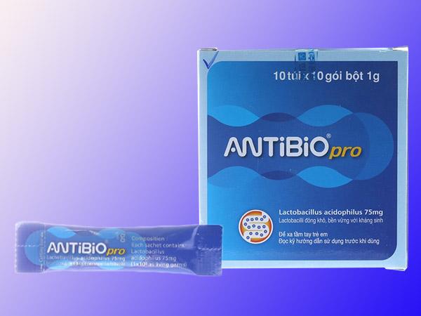 Men vi sinh Antibio Pro giúp bổ sung lợi khuẩn