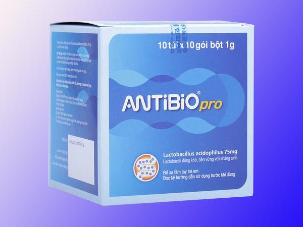 Mặt trước Men vi sinh Antibio Pro