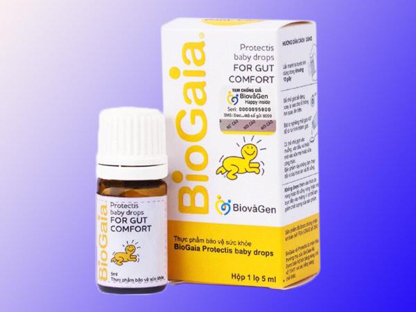 Mặt trước Men vi sinh Biogaia