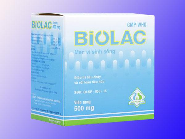 Men vi sinh Biolac giúp cung cấp lợi khuẩn hiệu quả