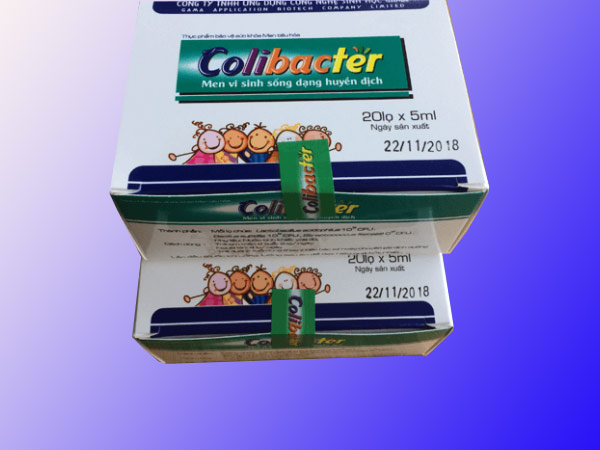 Tác dụng phụ Men vi sinh Colibacter
