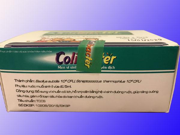 Men vi sinh Colibacter chính hãng