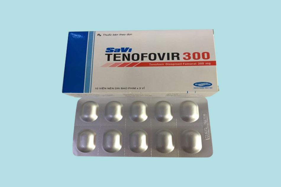 Thuốc Savi Tenofovir 300mg bào chế dưới dạng viên nén