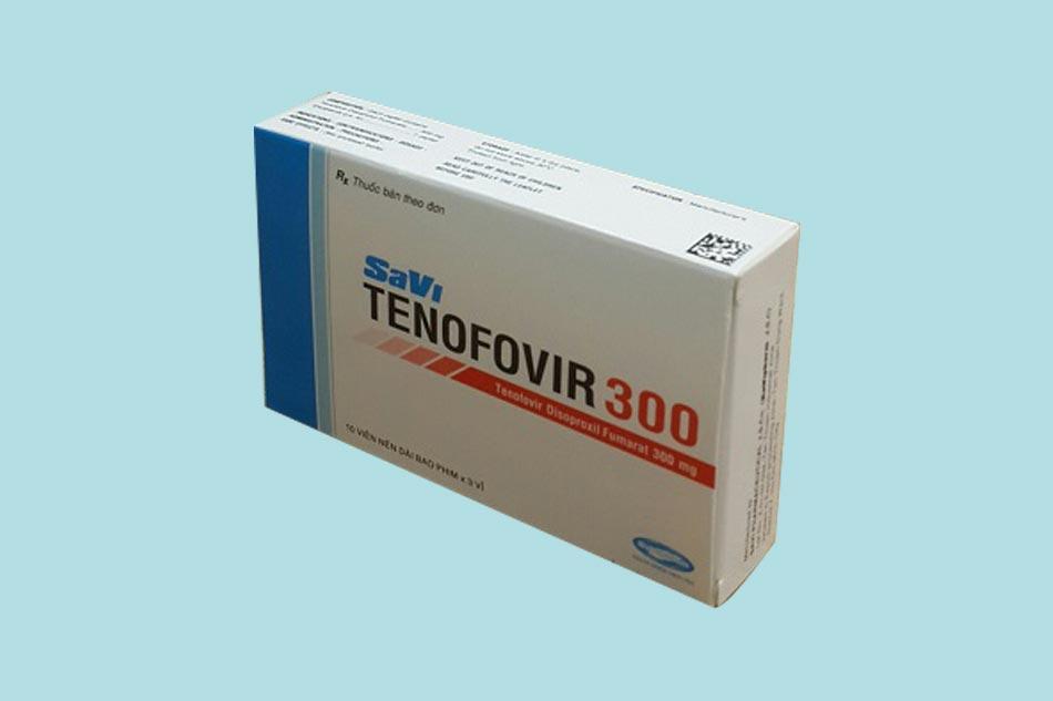 Hình ảnh hộp thuốc Savi Tenofovir