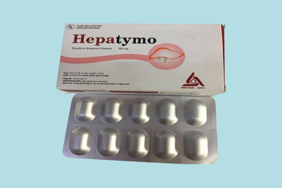 Thuốc Hepatymo bào chế dưới dạng viên nén